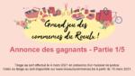 Grand jeu des commerces du Roeulx – Annonces des gagnants (1/5)
