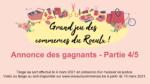 Grand jeu des commerces du Roeulx – Annonces des gagnants (4/5)