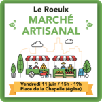 Marché artisanal du Roeulx - 11 juin 2021